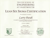 Dartmouth Certification